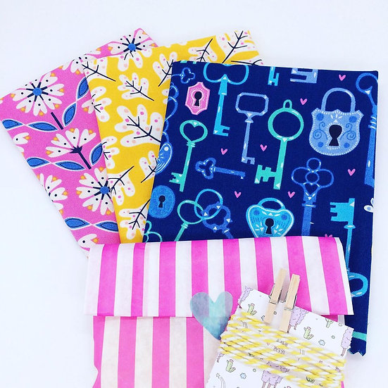 Make Your Own Beeswax Wrap Kit- Lock and Key