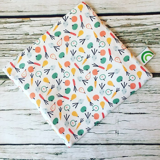 Little Veggies Reusable Sandwich Bag