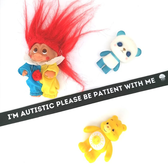 Autistic Be Patient With Me Lanyard