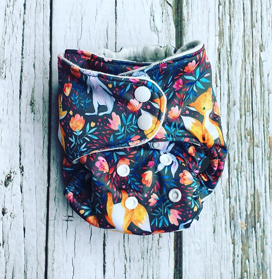 Reusable Nappy Various Designs-Adjustable