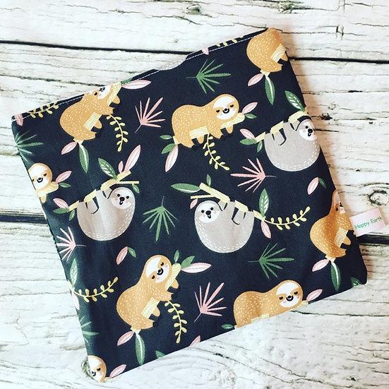 Sloth Reusable Sandwich Bag