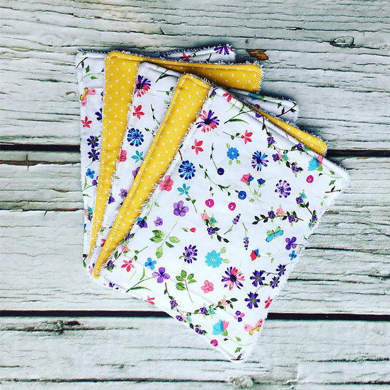 Spring Days Reusable Large Face Wipes