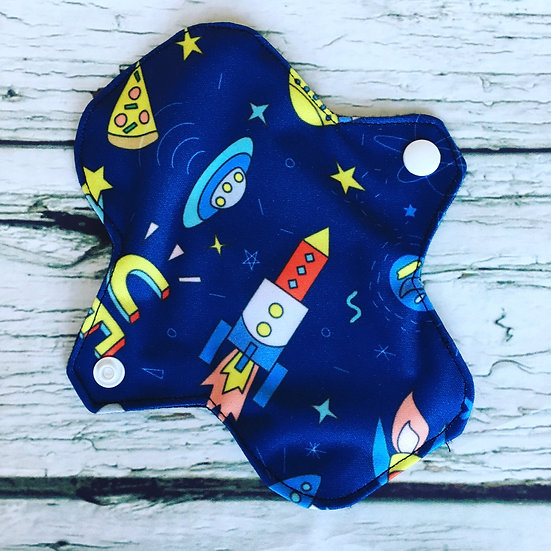 Space Pizza Reusable Pantyliner