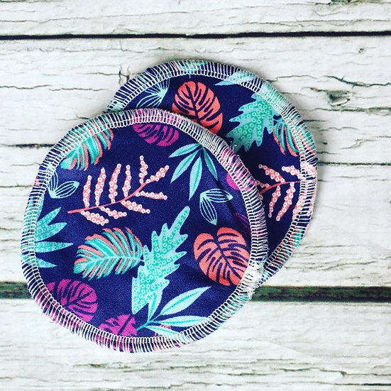 Tropical Waterproof Reusable Breastpads