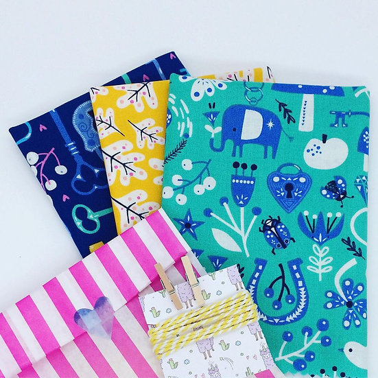 Make Your Own Beeswax Wrap Kit- Elefunking Keys