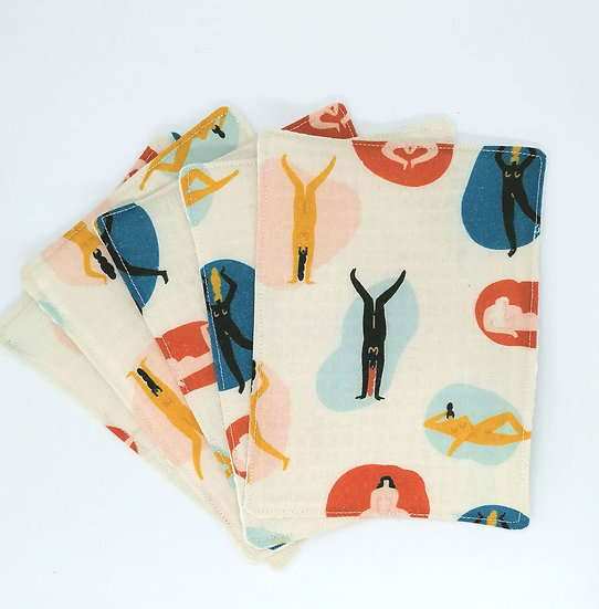 Reusable Large Face Wipes- All Bodies Are Good Bodies