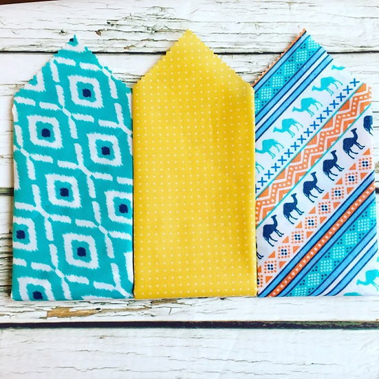 Moroccan Camels Three Pack Beeswax Wraps