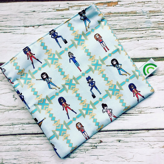 Strong Girls Reusable Sandwich Bag