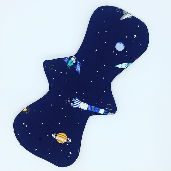 """Space Rockets High Absorbency Maxi Pad 11"""""""