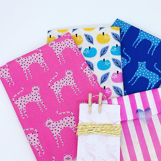 Make Your Own Beeswax Wrap Kit- Leopard Folk