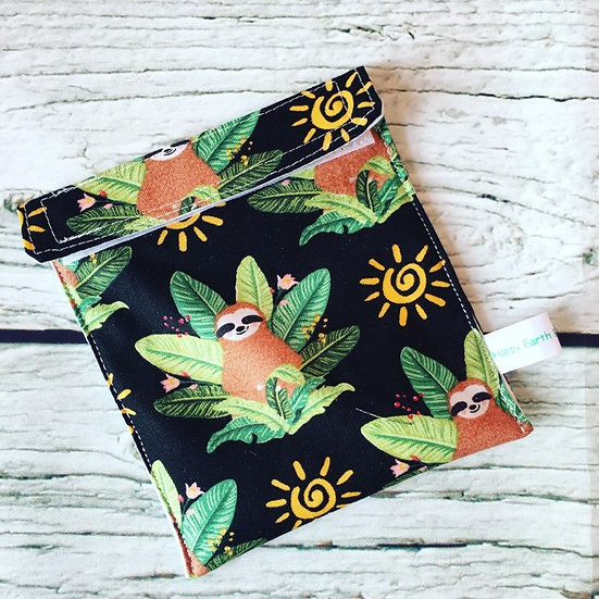 Sloth Travel Wetbag for Cloth Sanitary Pads