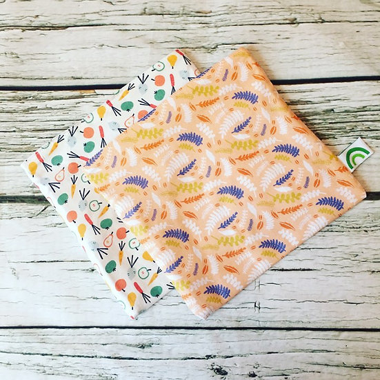 Set of Two Reusable Sandwich Bags