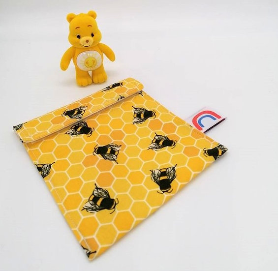 Save The Bees Travel Wet bag for Cloth Sanitary Pads