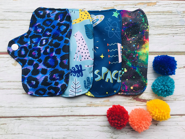 Reusable Pantyliners Four Pack