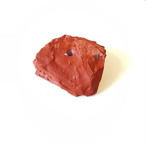 Porta incenso jaspe vermelho