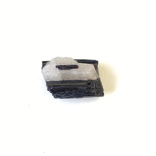 Turmalina no quartzo