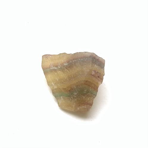 Fluorita arco-íris bruta