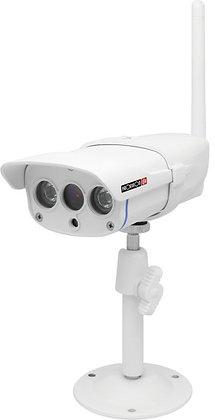מצלמת אבטחה אלחוטית Provision-ISR Wi-Fi IP 1080P חיצונית דגם WP-818 בצבע לבן