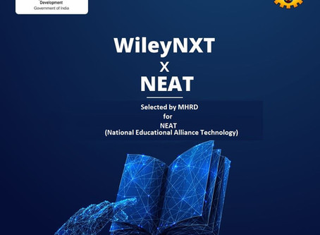 WileyNXT partners with AICTE to offer training and certification courses under NEAT Program