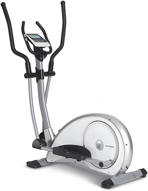Horizon Fitness Ellittica Syros Pro Bianco/Argento