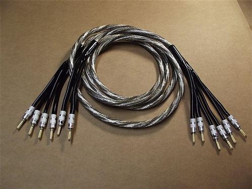 LaSpada Audio Spectrum Series Bi-Wired Speaker Cables (Pair)