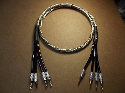 LaSpada Audio Spectrum Series Bi-Amp Speaker Cables (Pair)