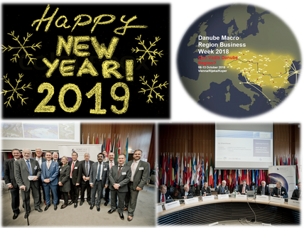 Merry Christmas & Happy New Year from Danube Macro Region