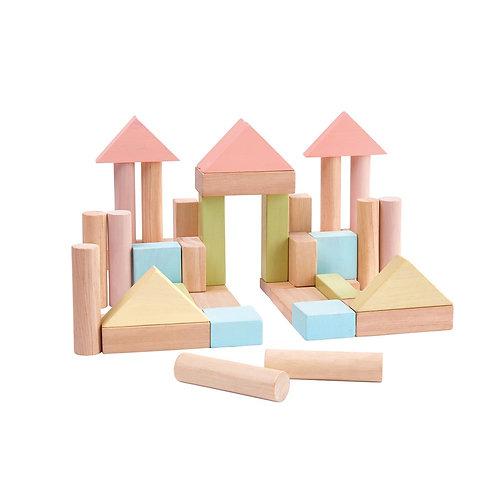 Blocs de construction pastel