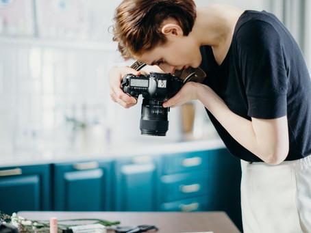 Emeline, photographe désormais en ligne