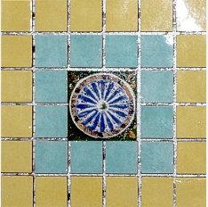 MOZ0194 Мозаика 15x15 EL OCRE-TUR. DECOR 2.5x2