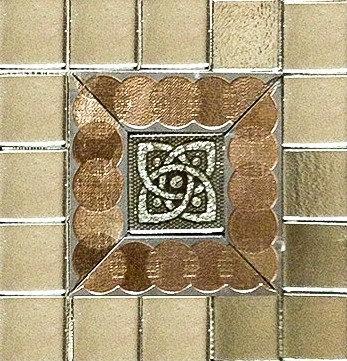 MOZ0065 мозаика 25x25 DE DECOR GLASS 5x5