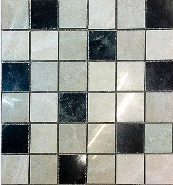MOZ0049 мозаика 30.5х30.5 LP GRIS - NEGRO 5x5
