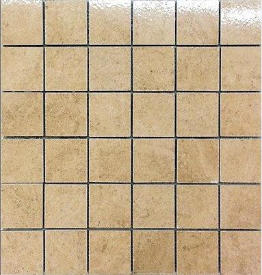 AM0117 мозаика 30.5х30.5 AM TIF. CREMA 5x5