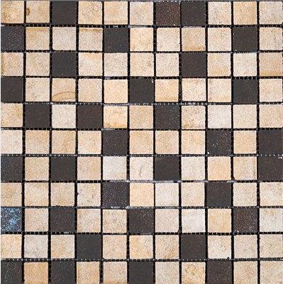MOZ0028 мозаика 30.5х30.5 CE BEIGE-OX. MIX 2.5x2.5