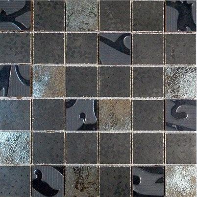 MOZ0068 мозаика 30.5х30.5 LP NEGRO DIGIT 5x5