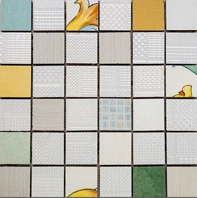 MOZ0025 мозаика 30.5х30.5 EL MAIOLIKA PAV. MIX 5x5