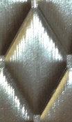 BP0074 Platino Silver 16x28 Ромбовидная плитка.