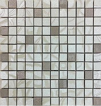 MOZ0053 Мозаика 30.5х30.5 KN IVORY - HONEY 2.5x2.5