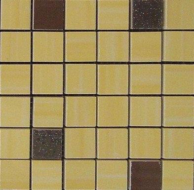 MOZ0001 мозаика 30.5х30.5 AL GIALO-CHOC. 2,5x2.5
