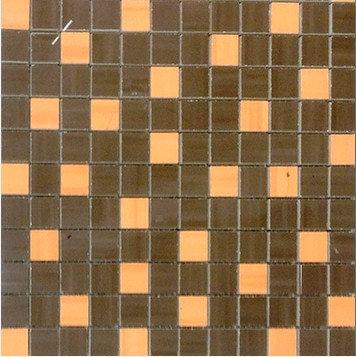 MOZ0033 мозаика 30.5х30.5 AL CHOCOL.-NAR. 2.5x2.5