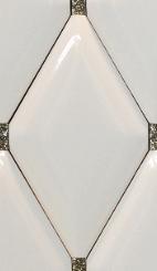 BP0061 Marfil Gold 16x28 Rombos.