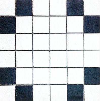 MOZ0207 мозаика 30.5х30.5 LP BLANCO-NEGRO 5x5