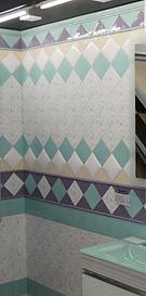 Керамическая плитка с майоликой – визитная карточка средиземноморского стиля в интерьере. Воплощает  все то, что мы ожидаем от стиля прованс - мелкий цветочный узор и нежные расцветки.