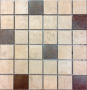 MOZ0073 мозаика 30.5х30.5 CE BEIGE - OXIDO MIX 5х5