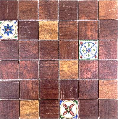MOZ0047 мозаика GELDO DECOR MIX 30.5x30.5 5x5