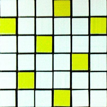 MOZ0002 мозаика 30.5х30.5 IT BLANCO-PIST. 2.5x2.5