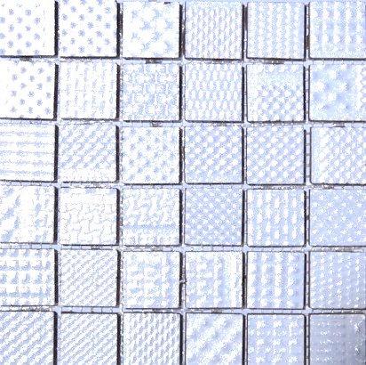 MOZ0076 мозаика 30.5х30.5 CE REFLEX BLANCO 2.5x2.5