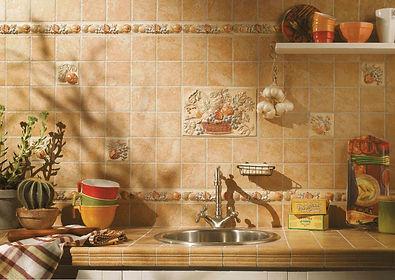 Плитка для фартука кухни