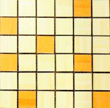 MOZ0016 мозаика 30.5х30.5 AL GIALO - NARANJA 2.5x2