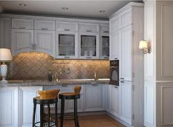 Teramo - плитка на фартук кухни.